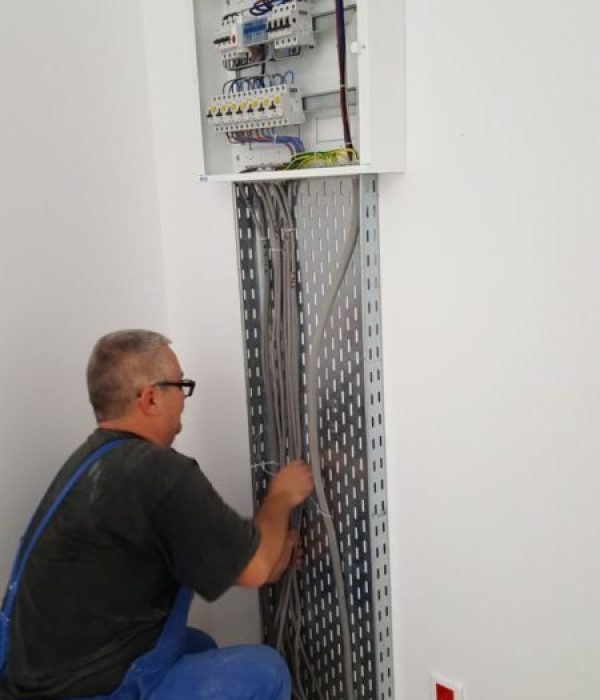 Instalatii electrice interioare apartamente, case, vile, masuratori pram